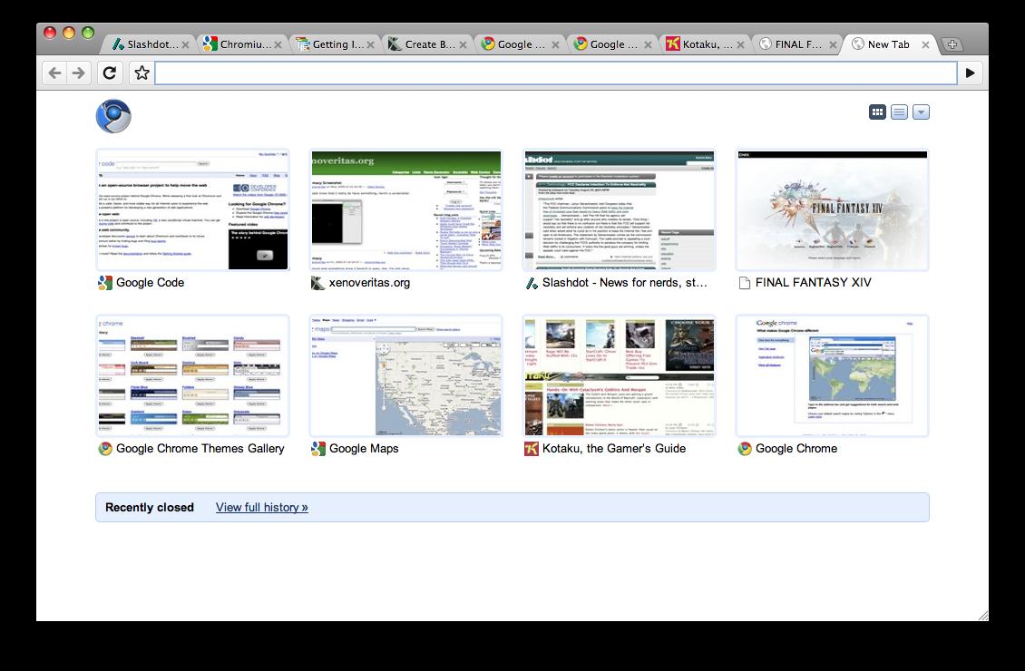 google chrome mac os x review